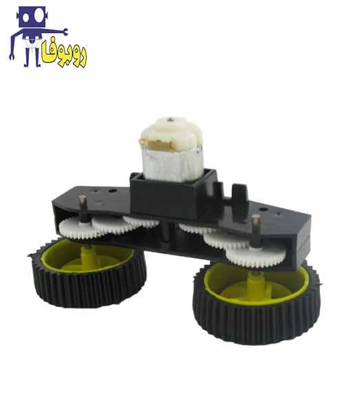 موتور گیربکس دو چرخ ربات
