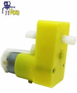 گیربکس موتور پلاستیکی دو محوری